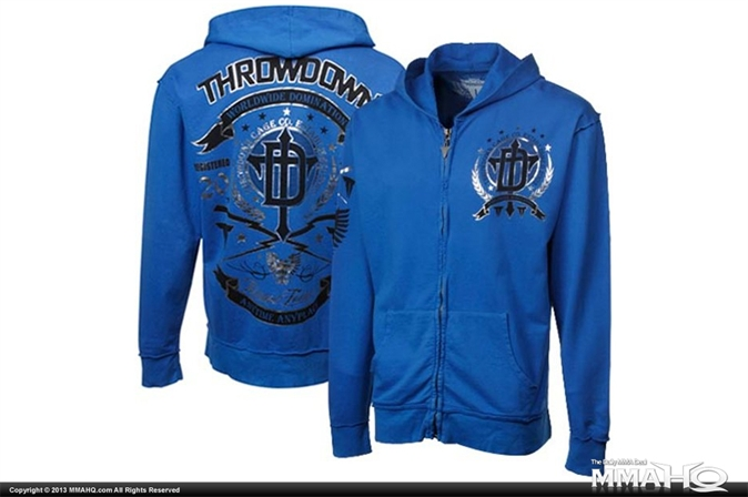 Throwdown Sharp Edge Full Zip Hoodie